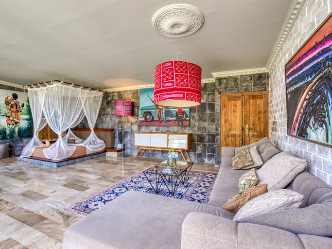 Artsy studio with private pool and rice fields, Gianyar