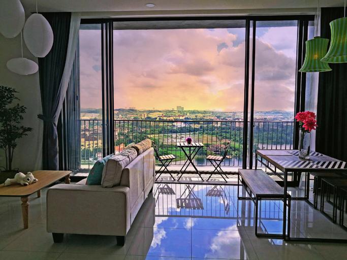 DC15#3BR, Quiet cozy lakeview suite, 100Mb fiber, Kuala Lumpur