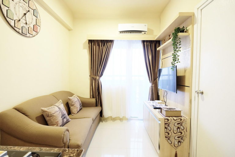 Apt2BR Green Pramuka  with Mall Access By Travelio, Central Jakarta