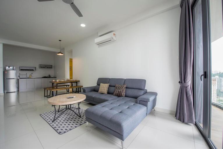 3 Bedrooms Arte S Condo @  Free High speed Wifi, Pulau Penang