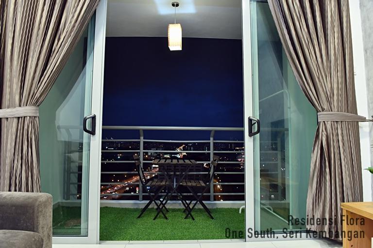 Cozy 3BR Family Suite@Flora One South Maxis Fibre, Kuala Lumpur