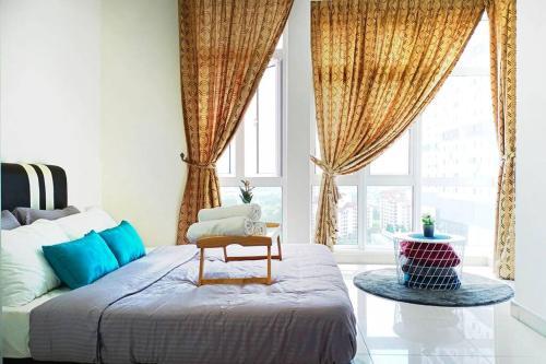 2 Bedrooms with Balcony JB City Central, Johor Bahru
