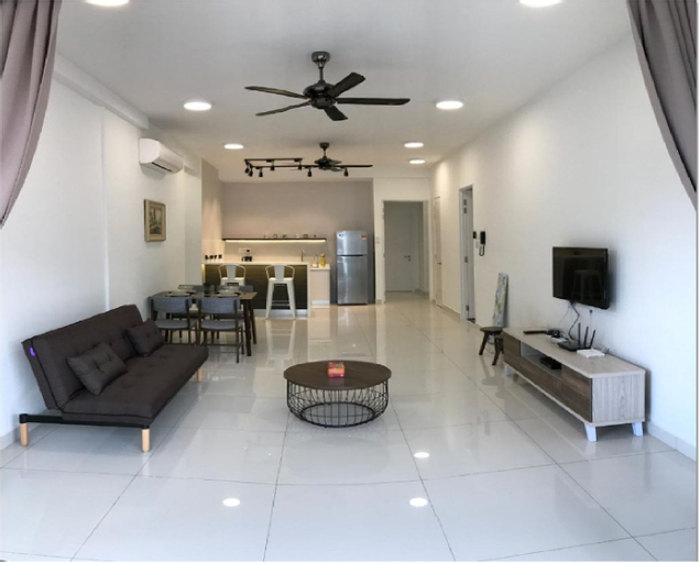 Arte S 3A-15-3 Comfortable home for 6 to 8 paxs, Pulau Penang