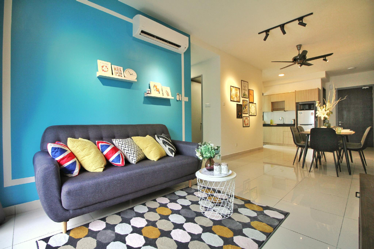 Unique Urban Coxy Home@KLTS 8 mins to KLCC, Kuala Lumpur