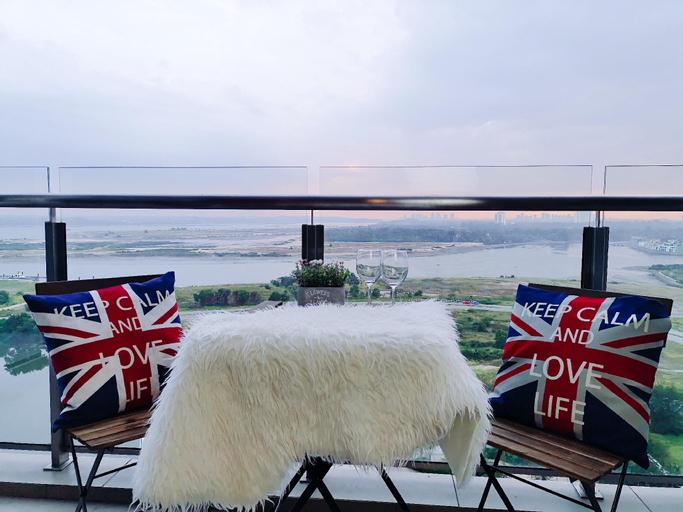 [D'ING] BORA~BORA SEAVIEW炫丽海景8MIN TO CIQ, Johor Bahru