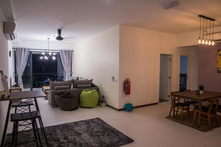Seaview Landmark 3 Bedroom Family Homestay@Gurney, Pulau Penang