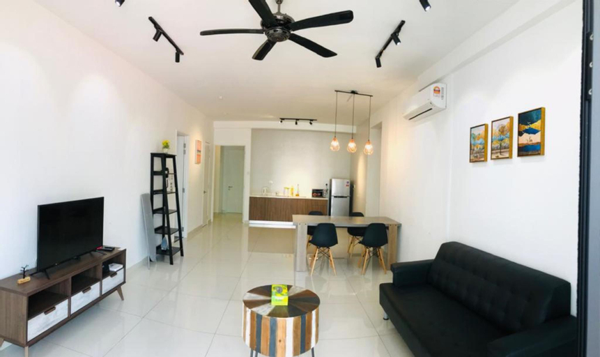Penang CozyView Apartment  3A-18-02 for 6 to 8 pax, Pulau Penang