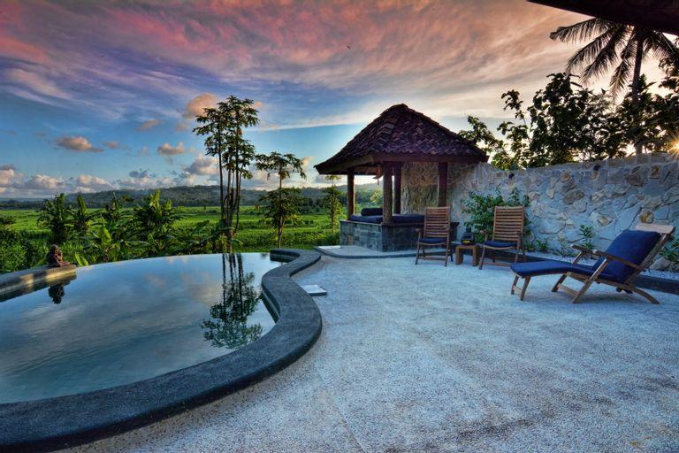 Villa Bluesteps, Villa with a stunning view, Bantul