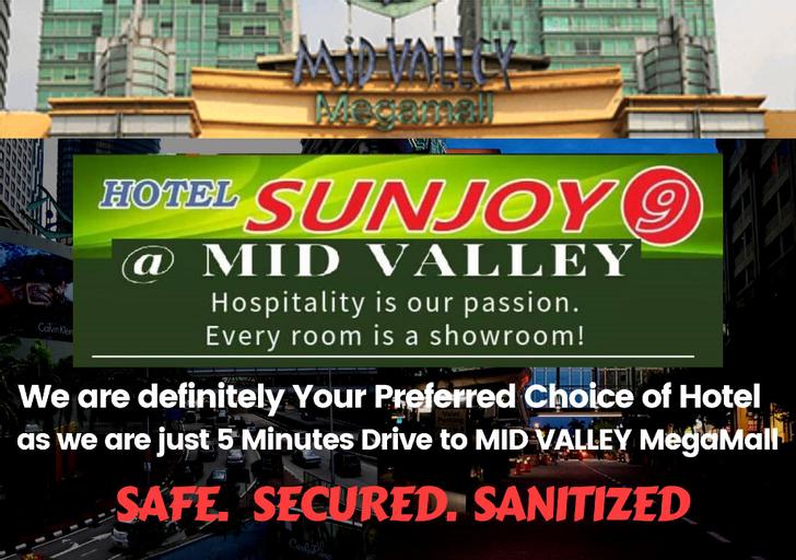 Hotel Sunjoy9 @ Mid Valley, Kuala Lumpur