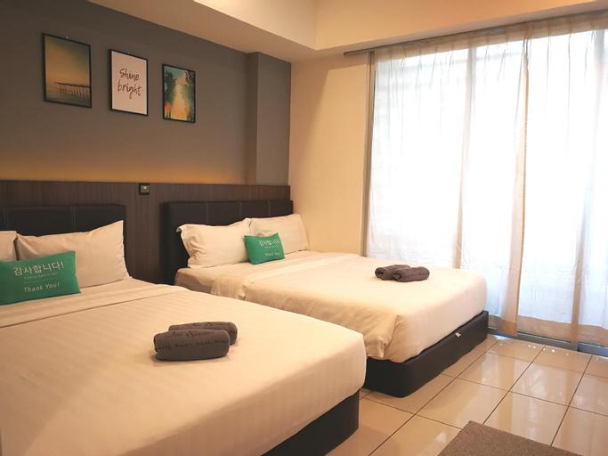 Jio Suites Sunshine Medium Room Aeropod SOVO KK, Kota Kinabalu