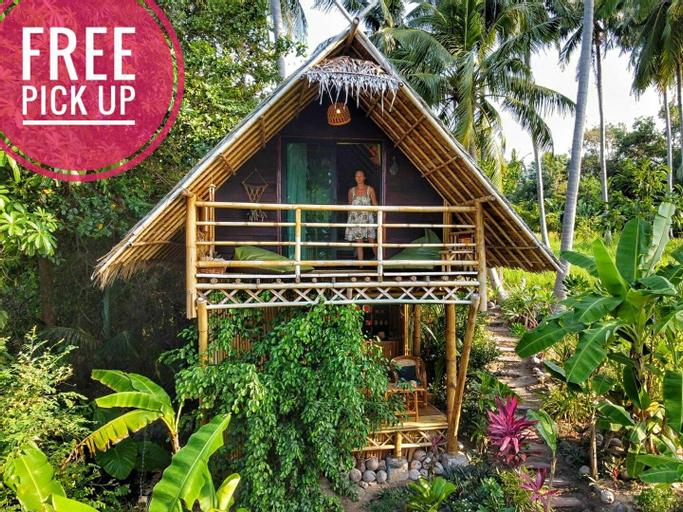 Seaview ECO LOFT 💚 bamboo bungalow, Ko Phangan