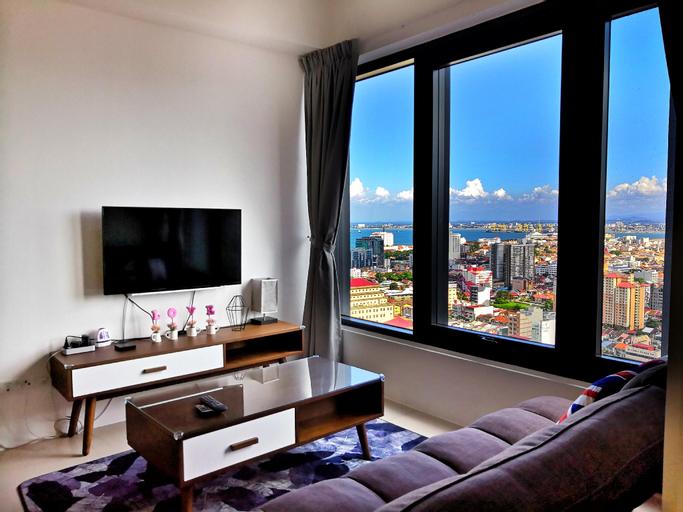 JK 218 Macalister Seaview Family Suite, Pulau Penang