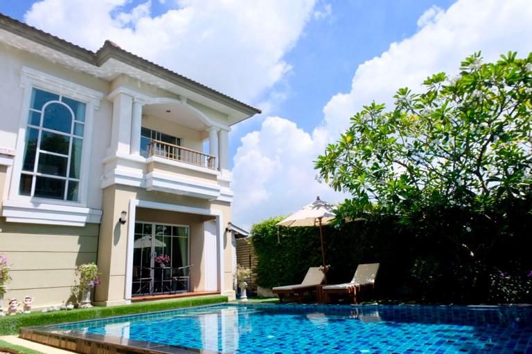 15mins Suvarnabhumi Private Pool Villa 3 bedrooms, Lat Krabang
