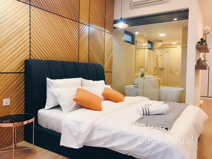 Luxury Seaview 3BR Family Suite for 8P w/ Bathtub, Pulau Penang