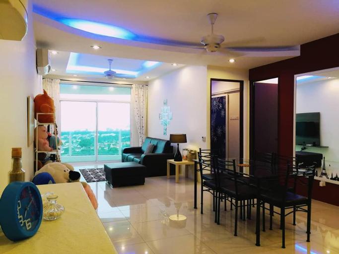Oasis#1-5mins to Georgetown 3BR Bridgeview Condo, Pulau Penang