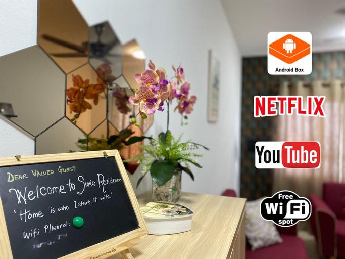 Suria Residence - Seaview Apartment   WiFi Netflix, Kuala Terengganu