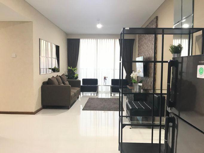 88m2,Private Lift Apartment Lexington, Fl.23rd,2BR, Jakarta Selatan