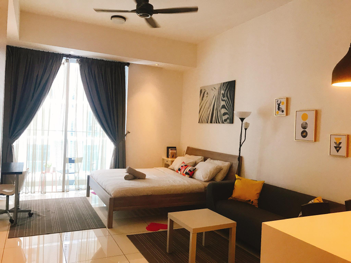 Romantic Pool View Balcony Studio KLCC@M Suite, Kuala Lumpur