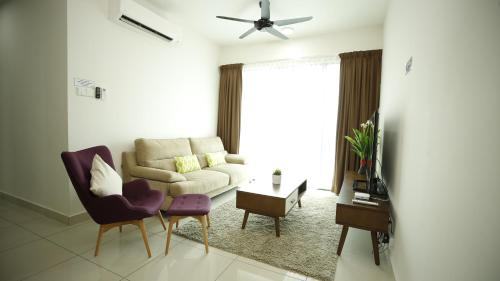 Cozy 3 Bedroom Apartment near KL City Center, Kuala Lumpur