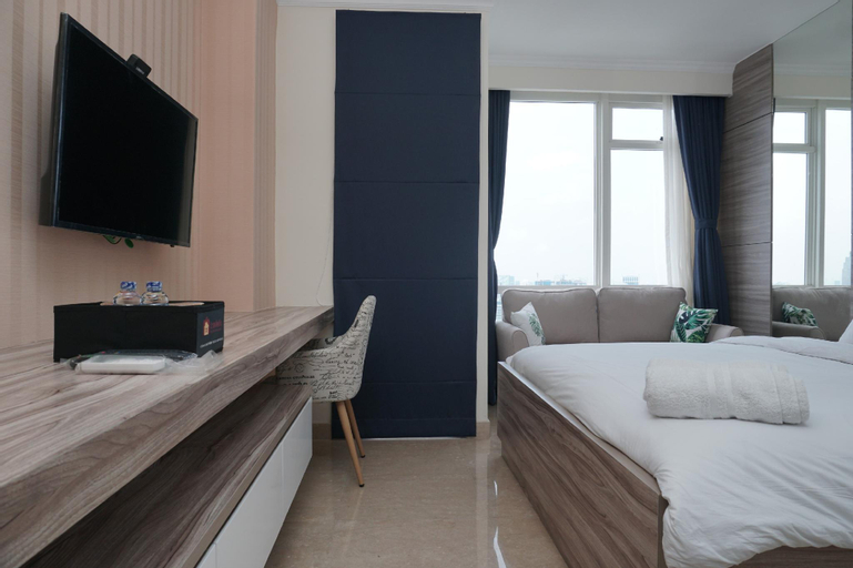 Tranquil and Well Appointed Studio Apartment at Menteng Park By Travelio, Central Jakarta