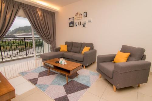 Cameron Highlands Modern7-Tea Plantation View-Premium Hotel Bed, Cameron Highlands