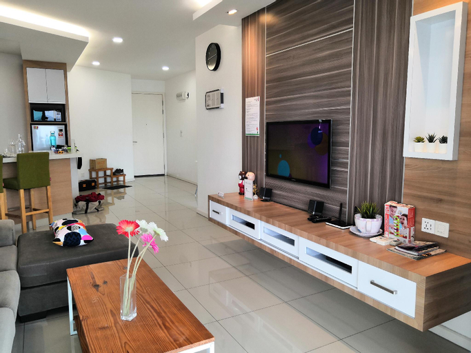 FAMILY SUITE FOR 6, 2BR+2BATH, KLCC VIEW 华人房东, Kuala Lumpur