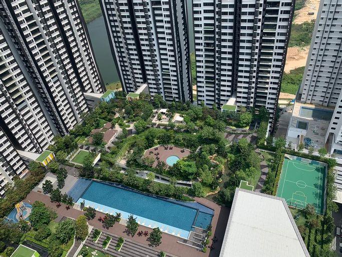Lakeville Residences 3R2B with superb balcony, Kuala Lumpur