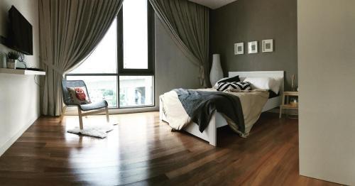 1BR Signature suites, next 1-mont kiara, 5min publica MITEC, Kuala Lumpur