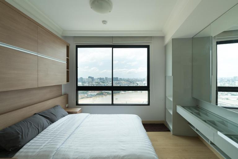 Amazing 2Brs Apartment by the River near Asiatique, Bang Kho Laem