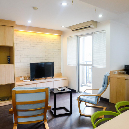 Spacious 1BR for 5 Pax @Maple Park Apt By Travelio, North Jakarta