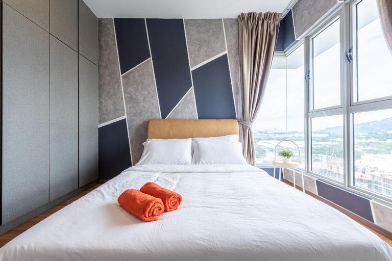 F2 Nordic Style 3BR Wifi Luxury @Flora One South, Kuala Lumpur