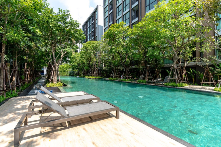 1bed room  Japanese hot spring apartment Bangkok, Phra Pra Daeng