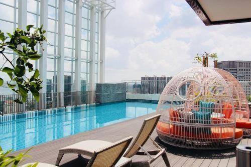 A Cozy & Modern Suasana Suites in Johor Bahru, Johor Bahru