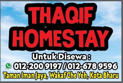 THAQIF HOMESTAY, Kota Bharu