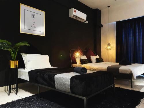 Favstay Aeropod Triple Room, Kota Kinabalu