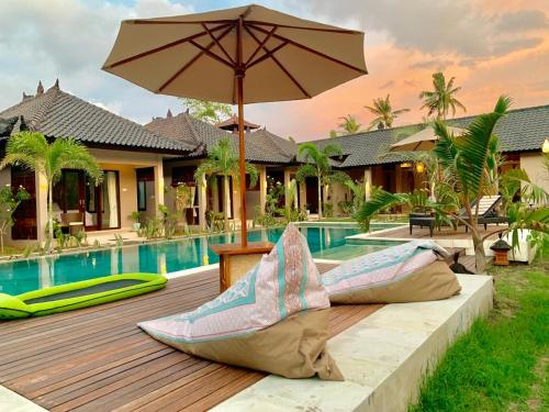 Kaien villas Gili Air, Lombok