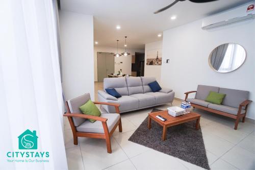 6PAX Suite/六人公寓-Midvalley(3BR+Wifi+FreePark) T1-29, Kuala Lumpur