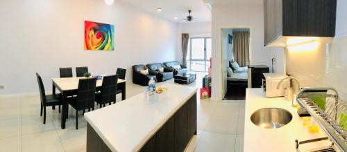 【乐居Ø LEJU】 6 Pax Cosy Suites @ IMAGO Mall 亚庇市中心首选!, Kota Kinabalu