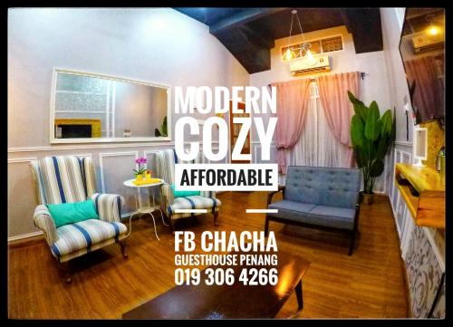 ChaCha Guesthouse Bertam Kepala Batas Pulau Pinang, Seberang Perai Utara