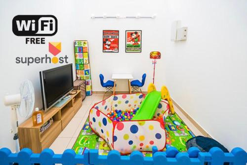 4-Bedrm ensuite family friendly house near Aeon Bukit Indah, Johor Bahru
