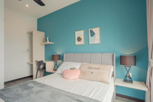 Bricx Suite 1BR++ @ Batu Kawan, Penang, Seberang Perai Selatan