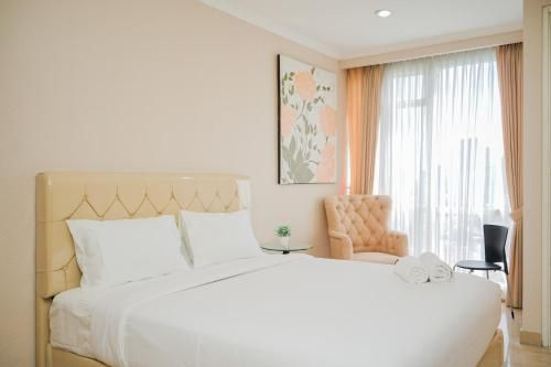 Fabulous and Modern Studio at Menteng Park Apartment By Travelio, Central Jakarta