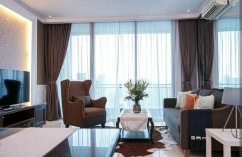 2 bedrooms appartment, 140m2, SCBD area, South Jakarta