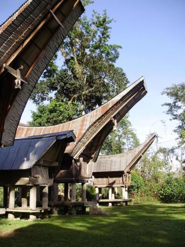 Tongkonan Layuk Lion, Tana Toraja