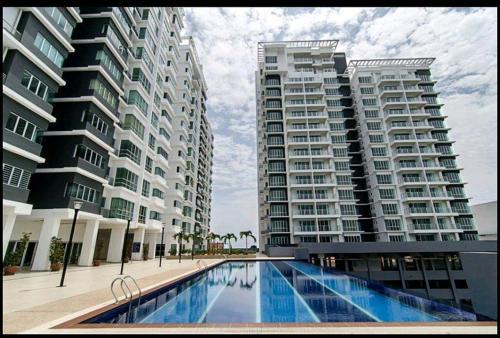 Sekinchan Condominium 3Pax Room Wi-Fi, Sabak Bernam