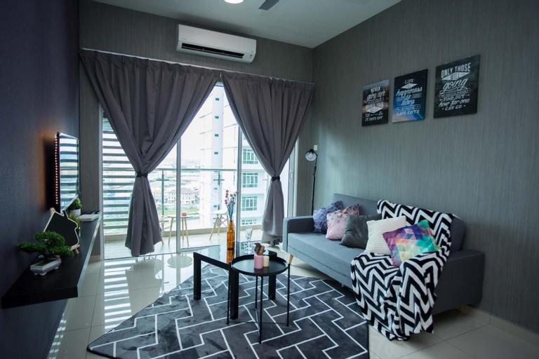 Parkland Residence 3room/Infinity pool/ AEON/10pax, Kota Melaka