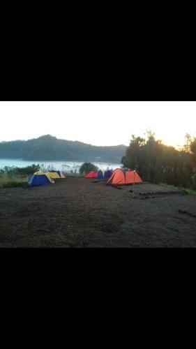 Camping sunrise mt batur, Bangli