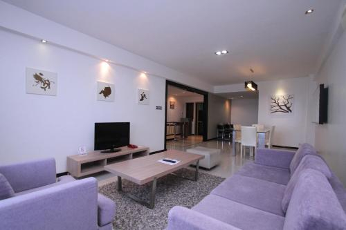 KK Apartment - 3 bedrooms Suite @ Likas, Kota Kinabalu