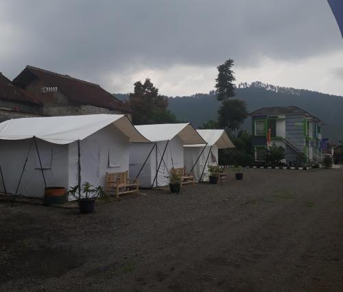 Glamping at Villa Maribaya, Bandung