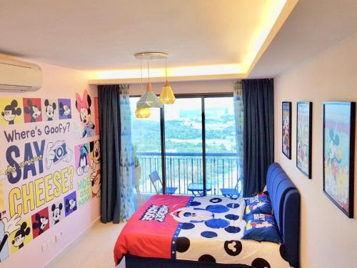 1-4pax Mickey Mouse 1bedrm at Puteri Harbour, Teega Suite, Johor Bahru